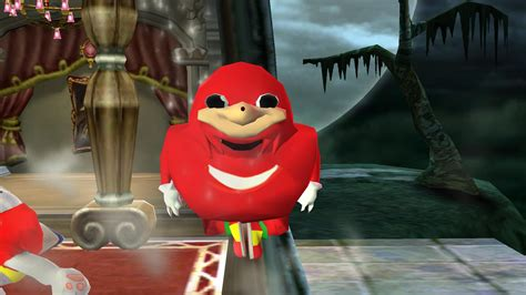 ugandan knuckles super smash bros wii  skin mods