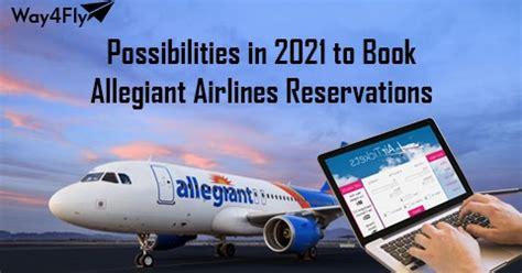 possibilities    book allegiant airlines reservations