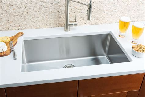 hahn small radius extra large single bowl sink