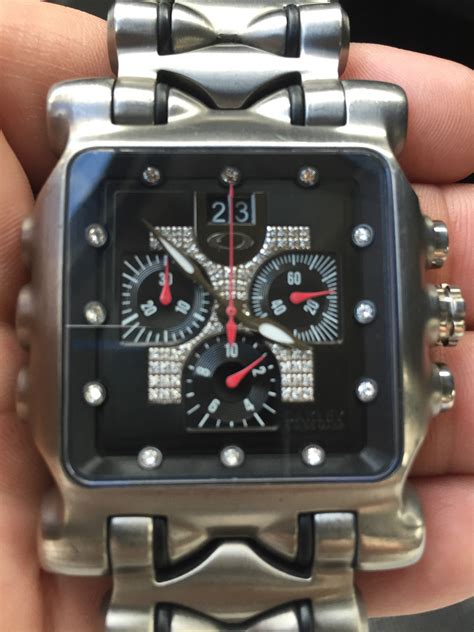 oakley rare diamond minute machine  gmt time bomb