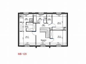 r+1 plan de maison
