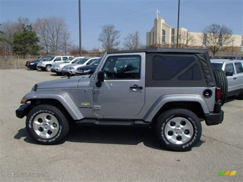 jeep metallic 2013 billet silver metallic jeep wrangler sahara 4x4