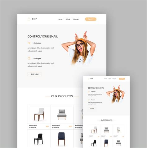 mailchimp ecommerce templates 19 best mailchimp responsive email templates for 2018 newsletters