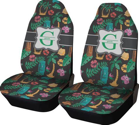 hawaiian masks car seat covers set   personalized