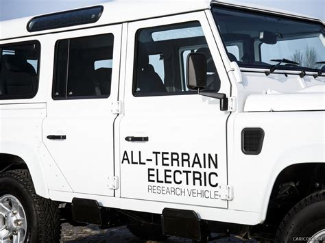 2018 Land Rover Electric Defender Concept Side