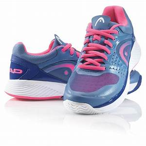 Head Womens Sprint Pro Tennis Shoes - Blue/Pink ...