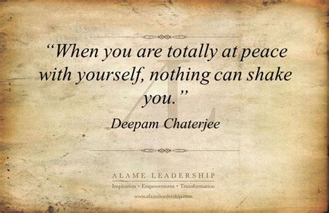 al inspiring quote   peace  oneself alame