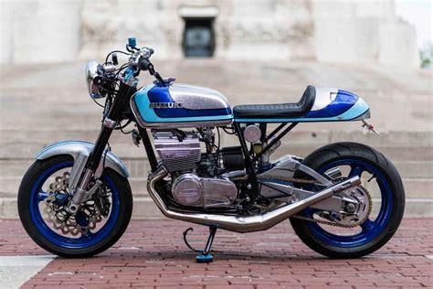 Suzuki Gt380 by Suzuki Gt380 Caf 233 Racer By Keith Carlson Bikebound