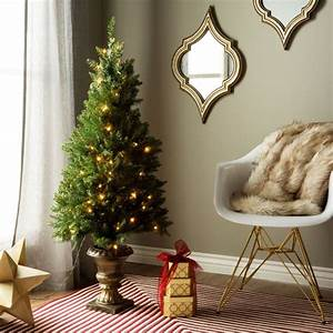 Shop, 4, U0026, 39, Artificial, Christmas, Porch, Tree, For, Indoor, Outdoor, Use, -, On, Sale
