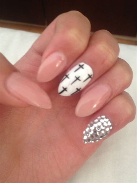 almond nails design almond shape nail nails awesome