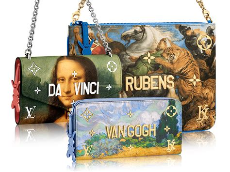 louis vuitton  jeff koons masters collection bagaholicboy