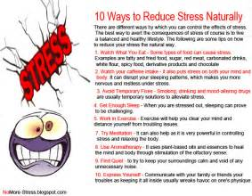 How Can You Reduce Stress