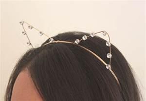 cat ear headbands simplyworn august 2013