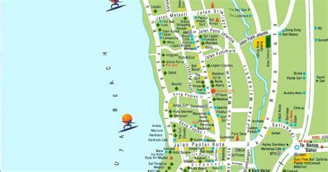 takjub indonesia peta wisata pantai kuta legian seminyak