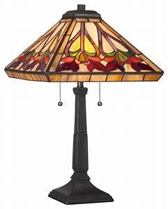 Quoizel tf t tiffany height light table lamp with