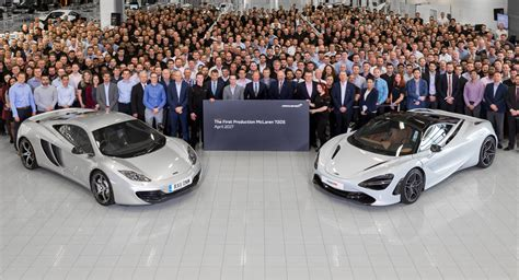 Mclaren 720s Officially Enters Production In Woking