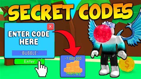 secret codes  roblox bubble gum simulator youtube