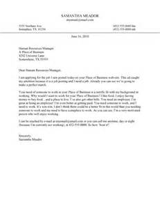 Funny Cover Letter Examples