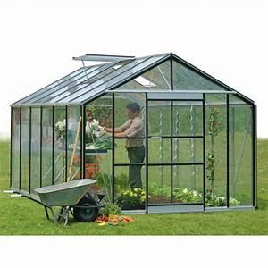Serre En Polycarbonate Ou En Verre : serre de jardin acd serranova 24 a serre en verre horticole ~ Premium-room.com Idées de Décoration
