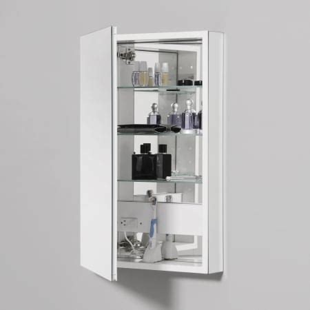 Robern Plm2030w by Robern Plm2030w White 19 1 4 Quot Reversible Hinged Single