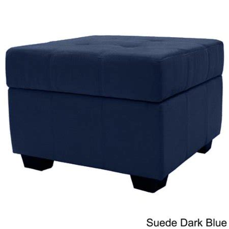 Padded Ottoman Storage Bench by Vanderbilt Tufted Padded Hinged 24 Inch Square Storage