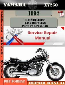 Yamaha Xv250 1992 Digital Service Repair Manual