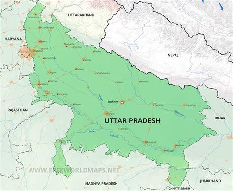 uttar pradesh maps