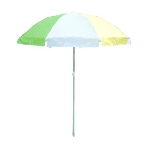 lohasrus 32 in patio umbrella in green white yellow