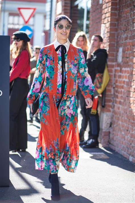 gucci everything street style looks from day 1 of milan fashion week onobello com