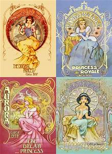 "Disney Princess images Disney Princess ""Vintage"" Posters ..."