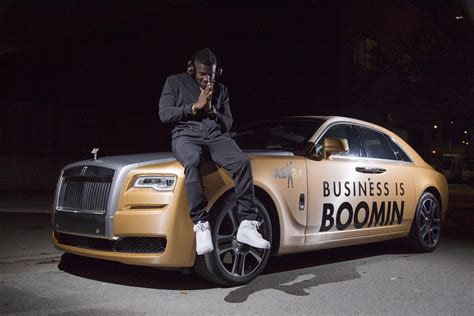 Antonio Brown Sports Rolls-royce Ghost Wrapped In Gold