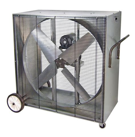 industrial fans direct com pvi heat buster portable boxed blower fan 1 speed 42 inch