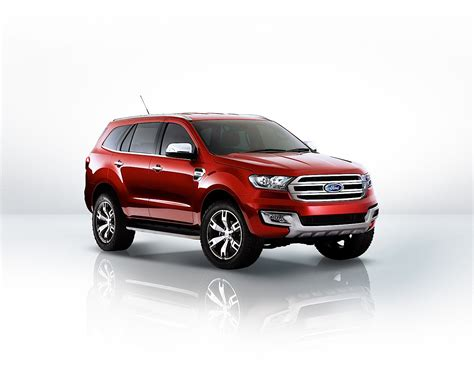 future ford ford unveils all new escort and everest concept at 2014