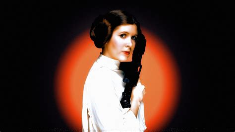 Carrie Fisher Princess Leia By Davedaring On Deviantart