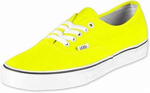 Vans Authentic shoes neon yellow