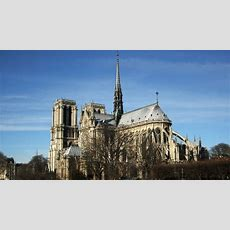 France's Prime Minister Announces Design Competition To Replace Destroyed Notredame Spire