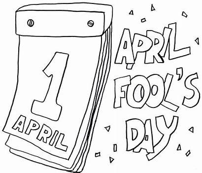 April Coloring Fools Printable