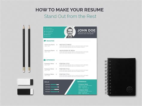 How To Make An Resume Stand Out by How To Make Your Resume Stand Out From The Rest A Useful Guide Wp