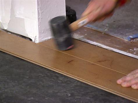 rubber floor tiles how to install an engineered hardwood floor how tos diy