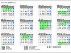 Kalender 2019 Excel, Word, PDF Kalender 2019 Feiertage