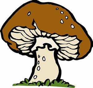Clipart - big mushroom