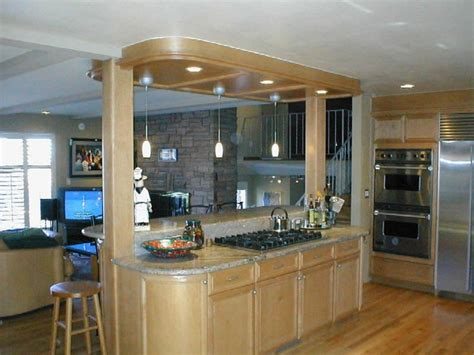 kitchen island columns columns on kitchen island ideas for my house
