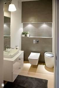 Rohrreiniger Für Toilette : wohnliche idee f r bad beleuchtete nische ber toilette ~ Lizthompson.info Haus und Dekorationen