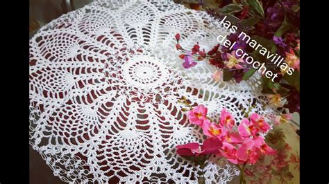 tapete redondo de pi 241 as a crochet paso a paso 2 youtube