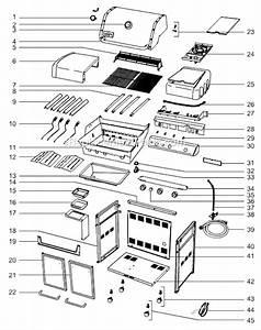 Weber 6670001 Parts List And Diagram   Ereplacementparts Com