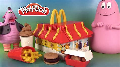 cuisine mcdonald jouet play doh mcdonald s restaurant playset pâte à modeler