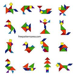 home design free software tangram puzzle dissection plan freepatternsarea