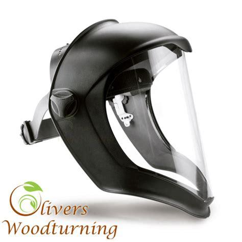 honney bionic faceshield olivers woodturning face