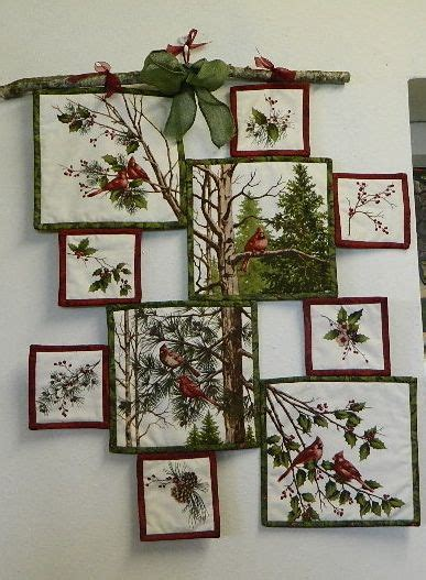 fabric panels for quilting make a creative wall hanging from a fabric panel