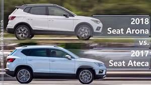 Seat Arona Dimensions : 2018 seat arona vs 2017 seat ateca technical comparison youtube ~ Medecine-chirurgie-esthetiques.com Avis de Voitures